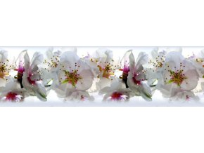 WB8208 Samolepicí bordura, šíře 14 cm Orchidej, 14 x 500 cm