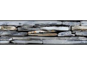 WB8209 Samolepicí bordura, šíře 14 cm Kameny, 14 x 500 cm