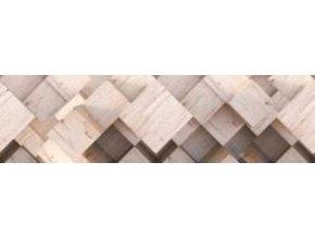 WB8210 Samolepicí bordura, šíře 14 cm 3D wood, 14 x 500 cm