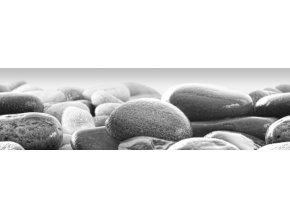 WB8215 Samolepicí bordura, šíře 14 cm Kameny na pláži, 14 x 500 cm