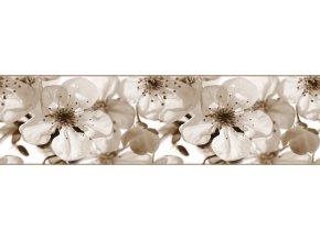 WB8216 Samolepicí bordura, šíře 14 cm Apple blossom, 14 x 500 cm