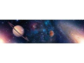 WB8218 Samolepicí bordura, šíře 14 cm Vesmír, 14 x 500 cm