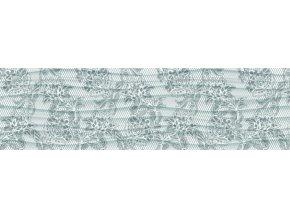 WB8224 Samolepicí bordura, šíře 14 cm Šedé květy, 14 x 500 cm