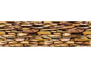 WB8241 Samolepicí bordura, šíře 14 cm Kameny, 14 x 500 cm