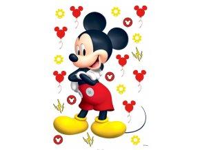 DK1725 Samolepicí dekorace Mickey Mouse, 42,5 x 65 cm