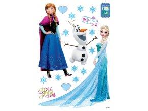 DK1729 Samolepicí dekorace Frozen, 42,5 x 65 cm