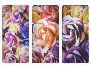 SM3441 Samolepicí dekorace Růže, 42,5 x 65 cm