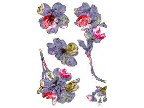 SM3444 Samolepicí dekorace Blossom, 42,5 x 65 cm