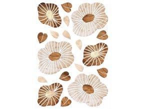 SM3445 Samolepicí dekorace Blossom wood, 42,5 x 65 cm