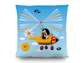 CND3124 Dekorativní polštářek Disney Little Mole in plane