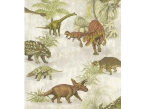 Papírová tapeta na zeď Rasch 212808, kolekce Kids & Teens III 53 x 1005 cm