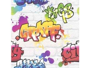 Papírová tapeta na zeď Rasch 272901, kolekce Kids & Teens III 53 x 1005 cm
