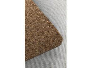 KP105 Korková podložka 25 x 25 cm, ořechy a koření