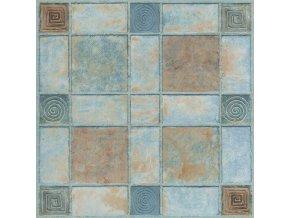 Samolepicí podlahové čtverce dlažba barevná DF0004