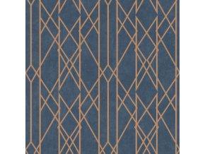 Papírová tapeta Rasch 215144, kolekce Sansa, 0,53 x 10,05 m