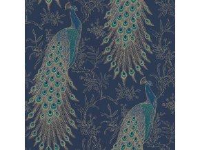 Papírová tapeta Rasch 215700, kolekce Sansa, 0,53 x 10,05 m