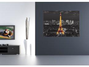 AG Design 1 dílná fototapeta EFFEIL IN NIGHT FTNM 2643, 160 x 110 cm vlies