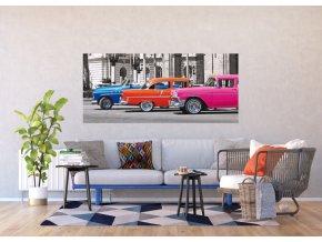 AG Design 1 dílná fototapeta CUBA AUTO FTNH 2702, 202 x 90 cm vlies
