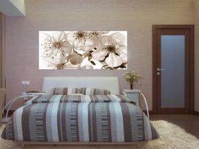 AG Design 1 dílná fototapeta FLOWERS FTNH 2706, 202 x 90 cm vlies