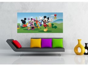 AG Design 1 dílná fototapeta MICKEY & FRIENDS FTDNH 5343, 202 x 90 cm vlies