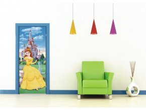 AG Design 1 dílná fototapeta BEAUTY AND THE BEAST FTDNV 5412, 90 x 202 cm vlies