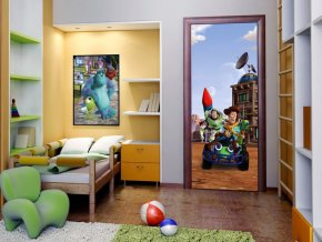 AG Design 1 dílná fototapeta TOY STORY 1 FTDNV 5439, 90 x 202 cm vlies
