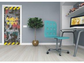 AG Design 1 dílná fototapeta DANGER FTNV 2834, 90 x 202 cm vlies