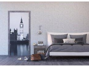 AG Design 1 dílná fototapeta LONDON FTNV 2843, 90 x 202 cm vlies