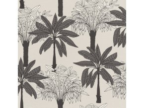 Vliesová tapeta na zeď Rasch 537802, kolekce Club Botanique, 0,53 x 10,05 m