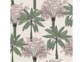 Vliesová tapeta na zeď Rasch 537819, kolekce Club Botanique, 0,53 x 10,05 m