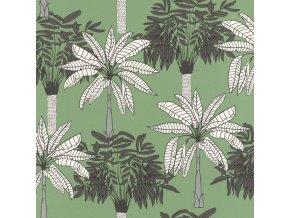 Vliesová tapeta na zeď Rasch 537833, kolekce Club Botanique, 0,53 x 10,05 m