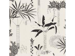 Vliesová tapeta na zeď Rasch 540031, kolekce Club Botanique, 0,53 x 10,05 m