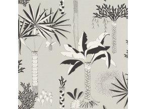 Vliesová tapeta na zeď Rasch 540048, kolekce Club Botanique, 0,53 x 10,05 m