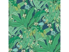 Vliesová tapeta na zeď Rasch 538922, kolekce Club Botanique, 0,53 x 10,05 m