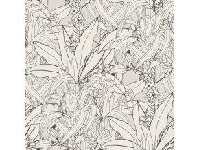 Vliesová tapeta na zeď Rasch 538946, kolekce Club Botanique, 0,53 x 10,05 m