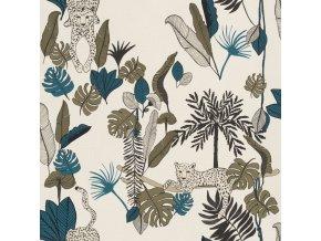 Vliesová tapeta na zeď Rasch 540345, kolekce Club Botanique, 0,53 x 10,05 m