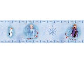 WBD8109 samolepicí bordura, šíře 14 cm Frozen II, 14 x 500 cm
