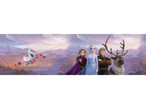 WBD8159 samolepicí bordura, šíře 10 cm Frozen II, 10 x 500 cm