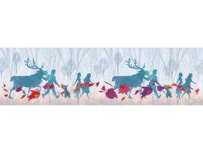 WBD8113 samolepicí bordura, šíře 14 cm Frozen II, 14 x 500 cm