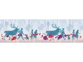 WBD8160 samolepicí bordura, šíře 10 cm Frozen II, 10 x 500 cm