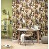 Papírová tapeta na zeď Rasch 247459, kolekce Kids & teens II, styl univerzální, 0,53 x 10,05 m