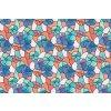 Statická fólie na sklo d-c-fix Lisboa jarní 45 cm x 1,5 m