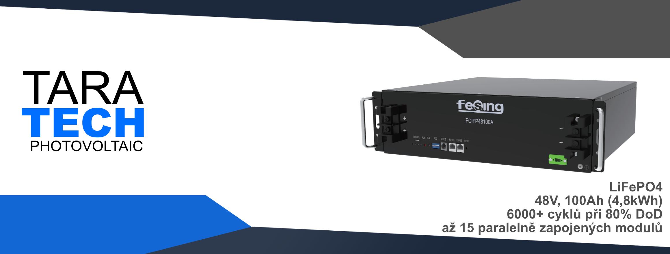 LiFePO4 modul - 48V, 100Ah