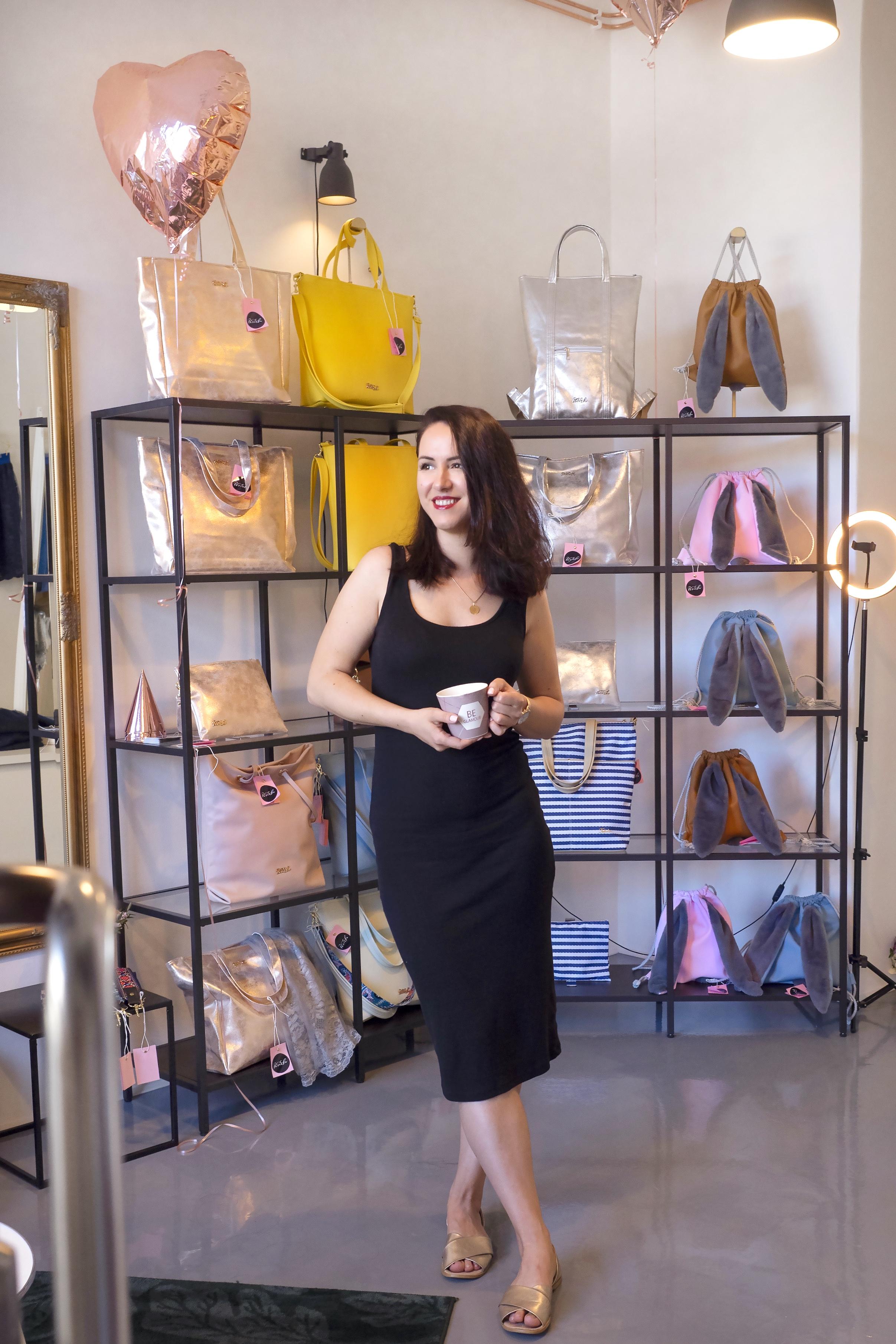 Království kabelek, zrcadel a všech holčičích snů. Tašenka otevírá nový showroom v Ostravě.