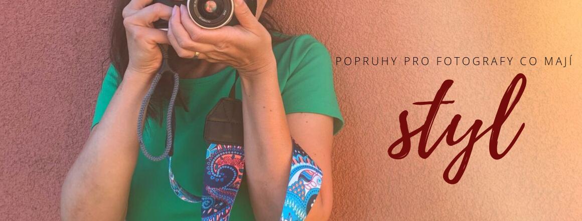 Popruhy pro fotografy co mají styl