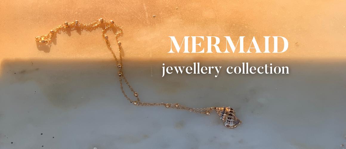 Mermaid collection letní kolekce šperků
