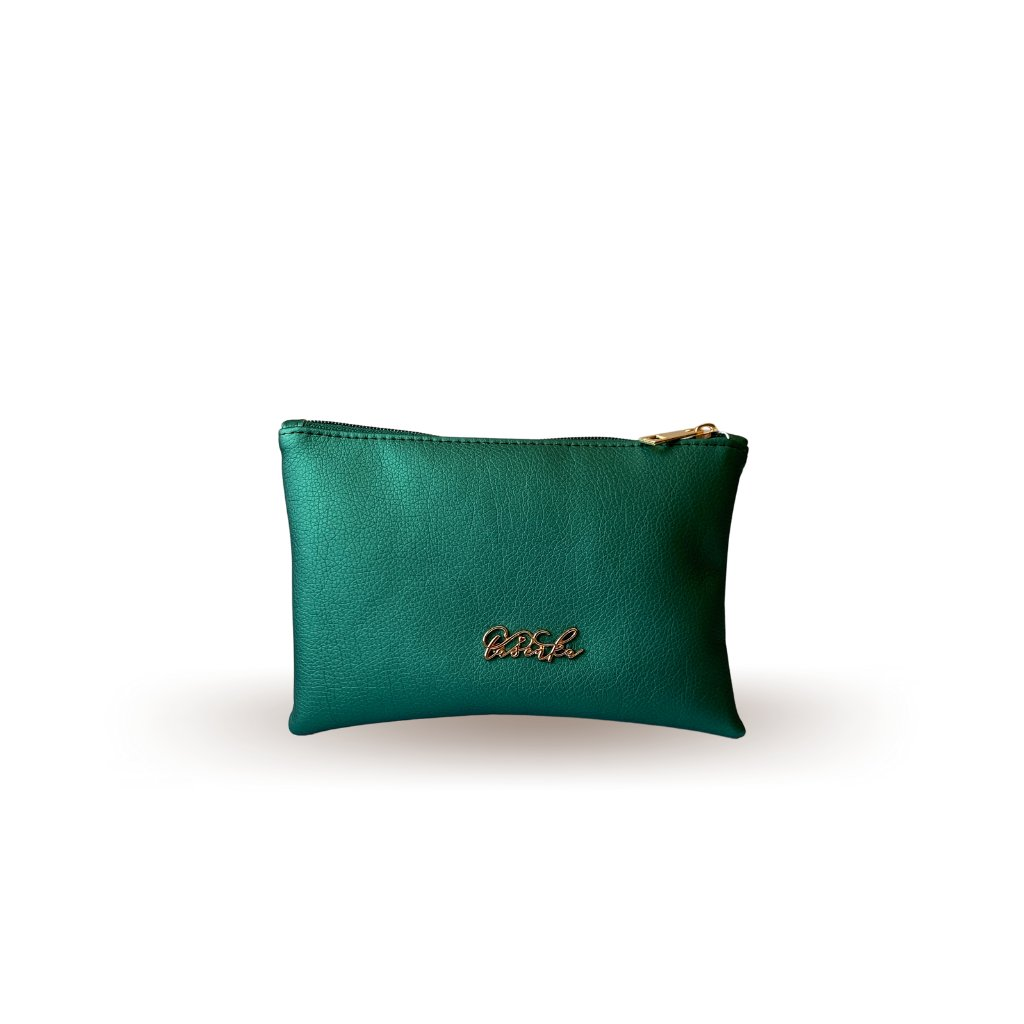 Smaragdová kosmetická taštička