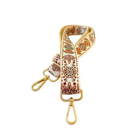Dekorativní popruh ke kabelce folklór