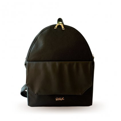 Overnight černý batoh