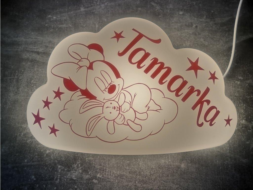 Dětské nástěnné svítidlo LED Minnie Mouse